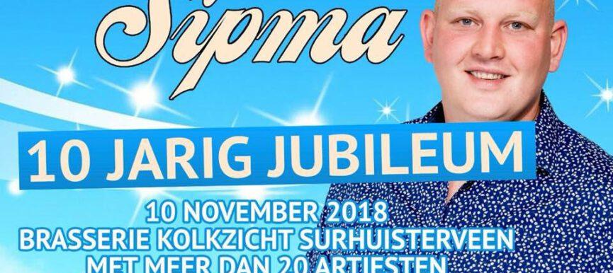 Single presentatie en 10-jarig jubileum Bertus Sipma